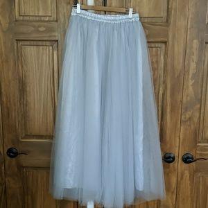 NWT plus size tutu ballgown skirt bridesmaid prom